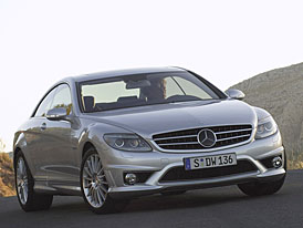 Mercedes-Benz CL 65 AMG: luxus se snoubí s rychlostí