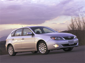 Subaru Impreza zatím jen pro Ameriku