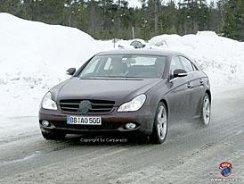 Spy Photos: Mercedes-Benz CLS se designem přiblíží kupé CL