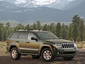 Jeep Grand Cherokee model 2008: lehoučký facelift velkého Čerokéze