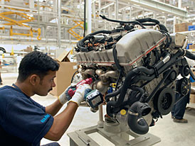 BMW otevřelo továrnu v indickém Chennai
