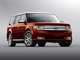 Pětimetrový Ford Flex: crossover pro typickou americkou rodinu