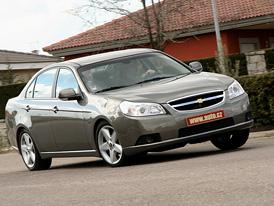 Chevrolet Epica 2.0 24V: nejlevnější řadový šestiválec na českém trhu již za 532 tisíc