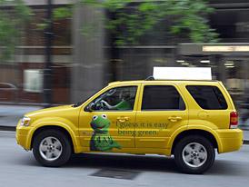 Ford Escape Hybrid: ekologick� a spolehliv� taxi v New Yorku