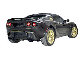 Lotus Elise Type 72D: Sběratelský kousek přijede rovnou pod vánoční stromeček