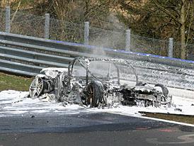 Spy Photos: nové Audi RS8 shořelo na Nürburgringu (VIDEO před požárem)