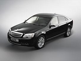 Daewoo L4X koncept australské luxusní limuzíny pro Koreu