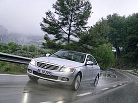 Pohon všech kol také pro nový Mercedes-Benz třídy C