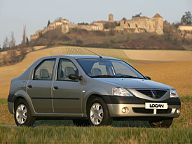 Dacia: Do roku 2009 ztrojnásobíme prodej Loganu