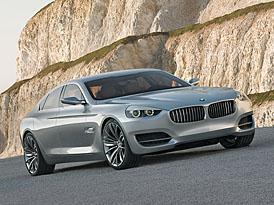 Auto Shanghai: BMW Concept CS - nové čtyřdveřové granturismo (+VIDEO)