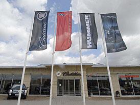Cadillac & Corvette Experience Center a oficiální zastopení značky HUMMER v Průhonicích