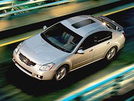 Nissan Maxima: dieselové motory v USA do roku 2010