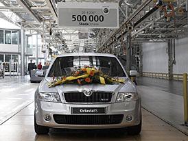 Škoda Auto slaví půlmilionté jubileum Octavie