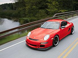 Porsche Cayman GTR: závodní okruhový speciál
