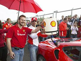 V Brně se slavilo - Shell a Ferrari jsou spolu již 60 let