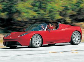 Elektrizující jízdní dojmy: Tesla Roadster