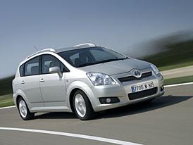 Facelift pro Toyotu Corolla Verso, rozsáhlejší seznam výbavy