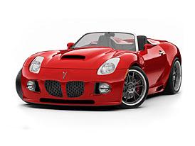 Pontiac Solstice dostal díky Mallett Cars Ltd. motor 6,0 V8