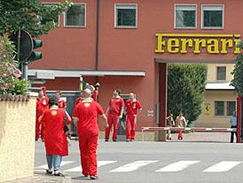 Ferrari je nejlep��m zam�stnavatelem v cel� Evrop�
