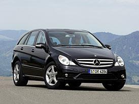 Mercedes-Benz t��dy R: pohon zadn� n�pravy, ni��� ceny