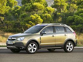 Opel Antara: Akční ceny nižší o 35 až 50 tisíc Kč, základní provedení za 513.900,- Kč