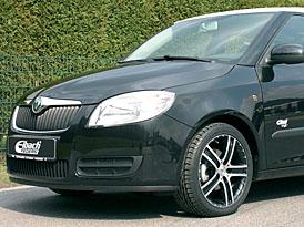 Eibach Fabia II: nový podvozek pro český hatchback