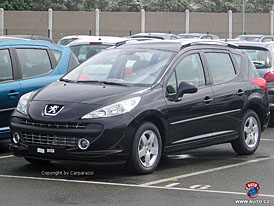 Peugeot 207 SW: světová premiéra v Brně