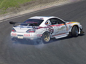 King of Europe Drift 2007: dveřmi napřed