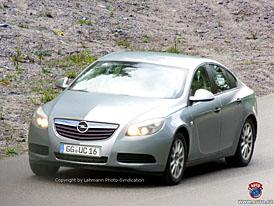 Spy Photos: Nový Opel Vectra, tentokrát bez maskování