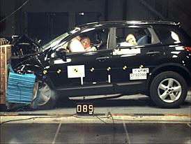 Euro NCAP: Nissan Qashqai dostal nejv�ce bod� za ochranu pos�dky v historii