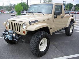 SEMA 2007: dvě novinky Jeepu