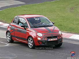 Spy Photos: Fiat 500 Abarth - polsk� Fiat se 110 kW