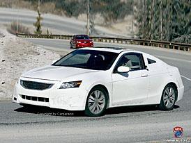 Spy Photos: Honda Accord Coupé a Sedan pro americký trh