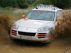 Porsche Cayenne S Transsyberia už pilně trénuje