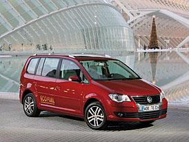Volkswagen Touran EcoFuel na českém trhu od 756.800,-Kč