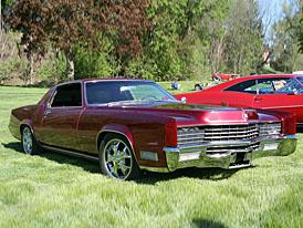 Cadillac Eldorado z roku 1967 upravený studenty