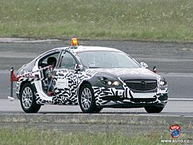 Spy Photos: Nový Opel Vectra při zkouškách airbagů