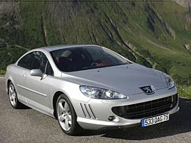 Peugeot 407 Coup� tak� s �ty�v�lcem 2,0 HDI (100 kW)