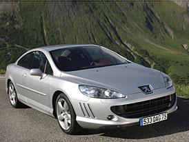 Peugeot 407 Coupé také s čtyřválcem 2,0 HDI (100 kW)