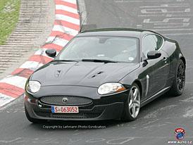 Spy Photos: Velká kočka s novou převodovkou - facelift pro Jaguar XK/XKR