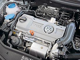 Volkswagen 1,4 TSI (90 kW): jak nahradit objem tlakem?