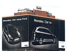 Obří billboard pro nový Ford Mondeo