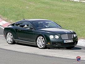 Spy Photos: facelift pro Bentley Continental GT