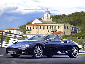 Brno živě: Spyker na brněnském autosalonu