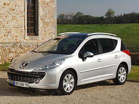 Peugeot 207 SW: malé kombi doplňuje řadu, přijde i Outdoor a RC