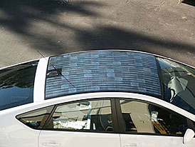 Toyota Prius se solárními panely
