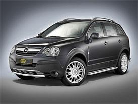 Cobra Opel Antara: optický chrom-paket