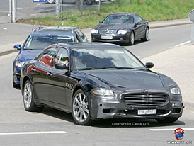 Spy Photos: Maserati Quattroporte - lehké omlazení italské krásky