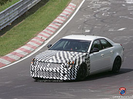Spy Photos: Cadillac CTS-V přijede se 390 kW?