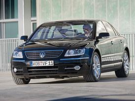 Nový Volkswagen Phaeton bude kratší